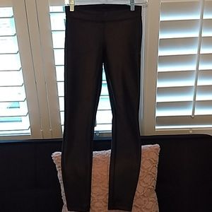 Express Faux Leather Low Rise Leggings